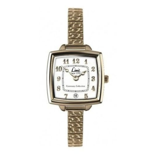 Gold Stainless Steel Expandable Watch