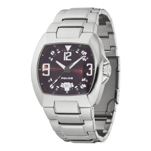 Crossbow Gents Brushed And Polished Stainless Steel Wristwatch