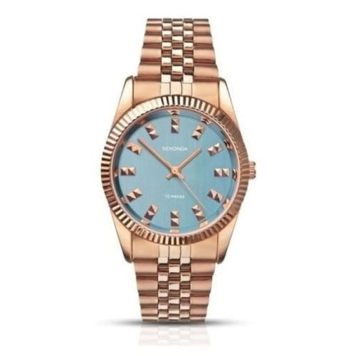 Ladies Rose Gold Plated Wristwatch