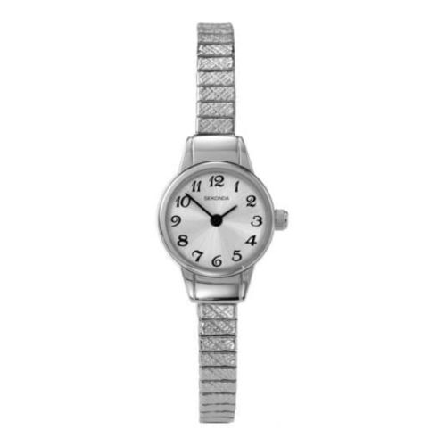 Ladies Petite Stainless Steel Expandable Watch