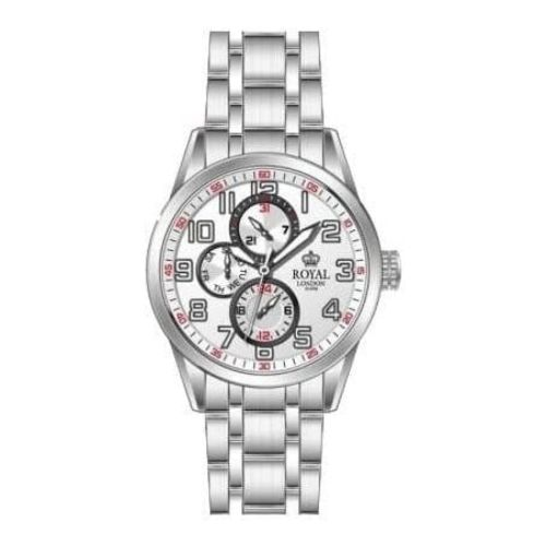 Stainless Steel Multifunctional Gents Watch