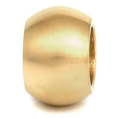 Gents Smooth Gold Plated Link