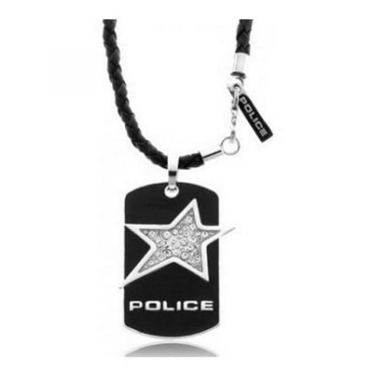 Police Black Stainless Steel