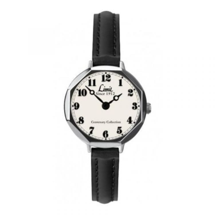 Centenary Collection Petite Leather Black Watch
