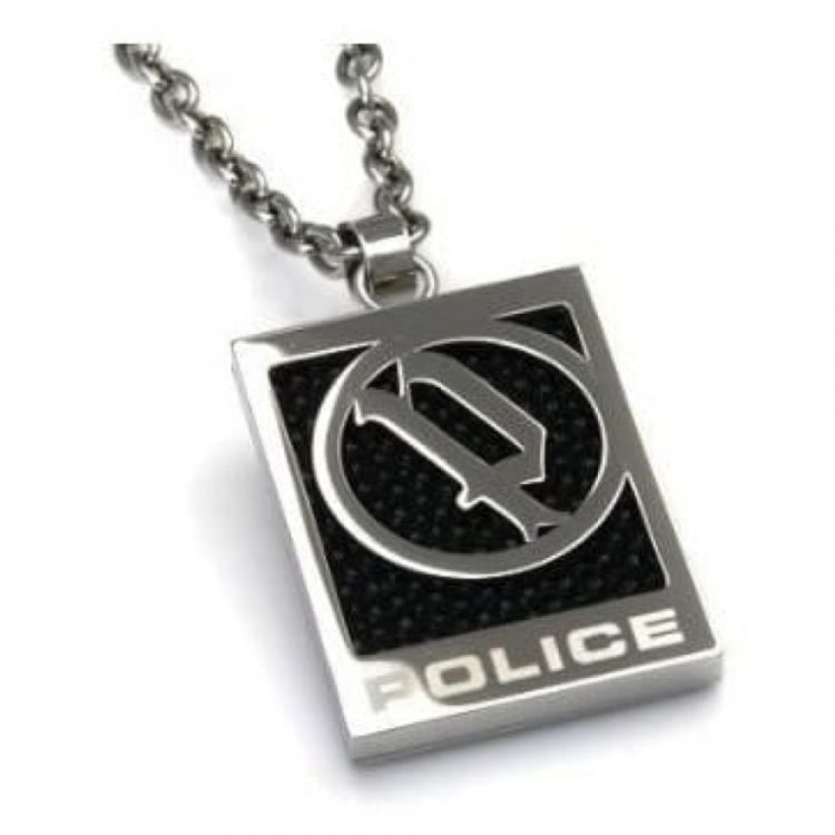 Evidence Gents Stainless Steel Pendant Necklace