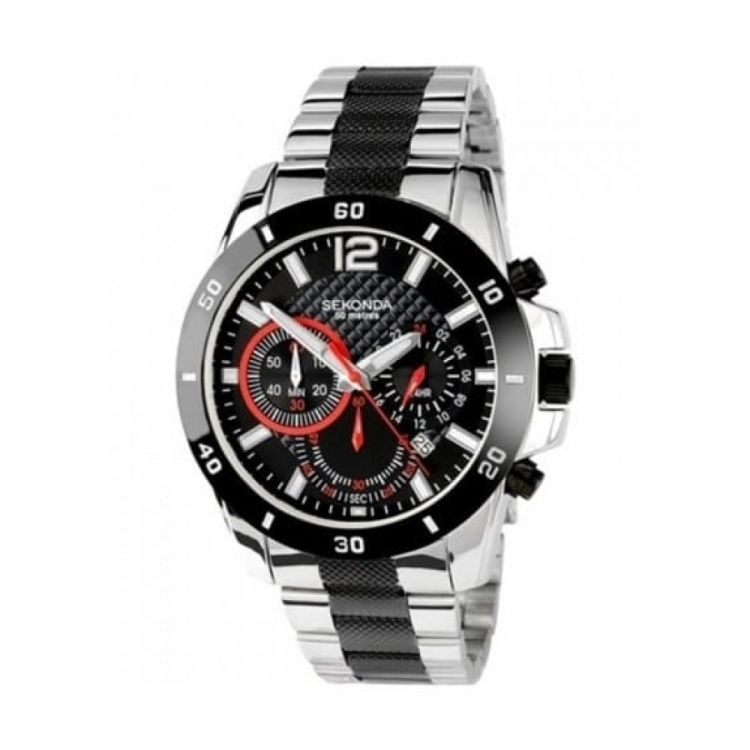 Gents Two Tone & Steel Chronograph Watch