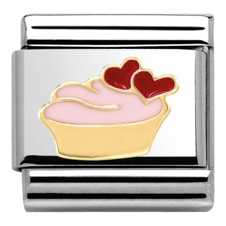 Classic Hearts Cup Cake Link