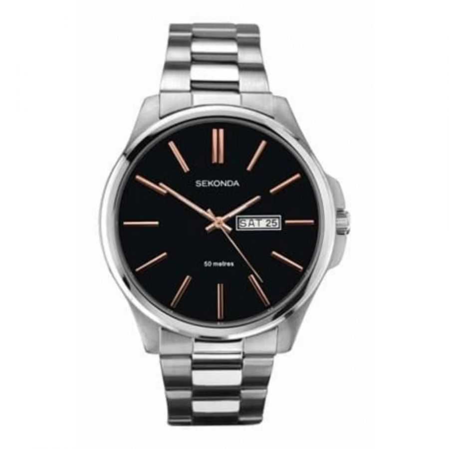 Gents Silver Tone Wristwatch
