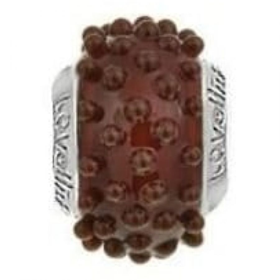 Soft Spot-Toffee Murano Glass Lovelink Charm