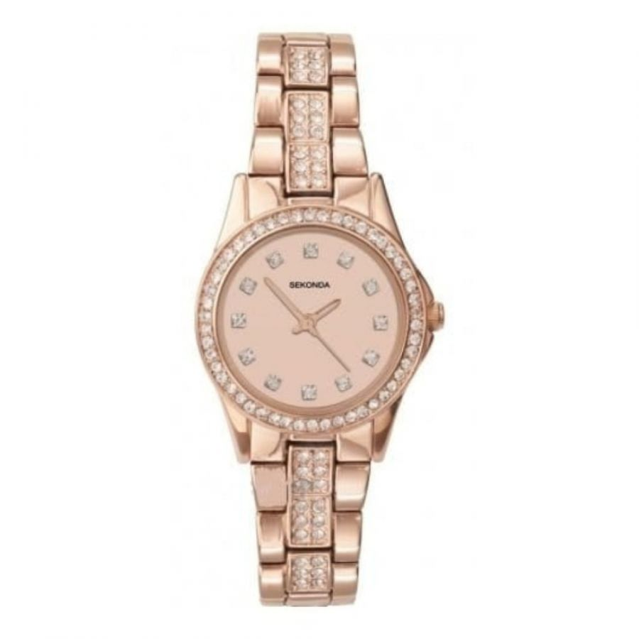 Sekonda Ladies' Rose Gold Wristwatch