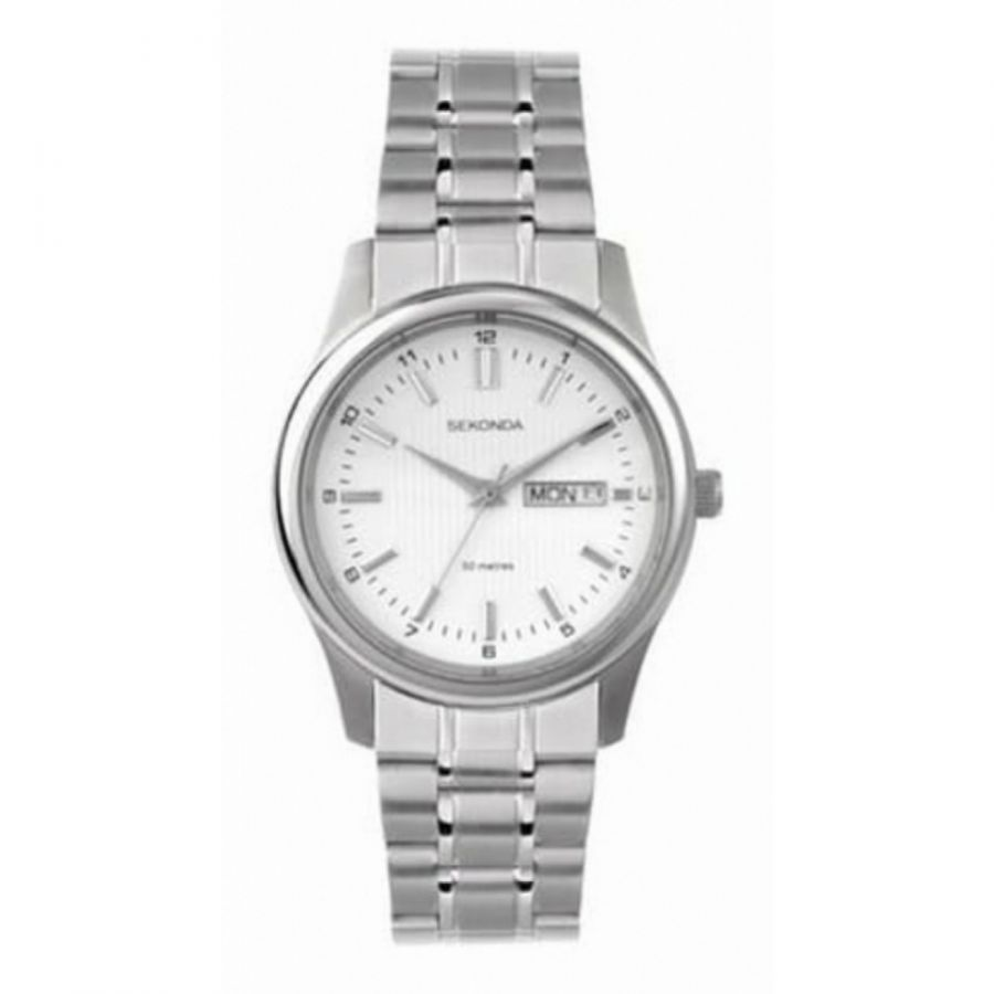 Stainless Steel Date Display Wrist Watch