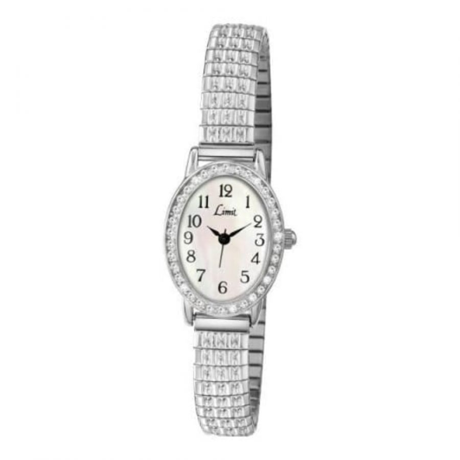 Expandable Stainless Steel Oval Ladies Watch