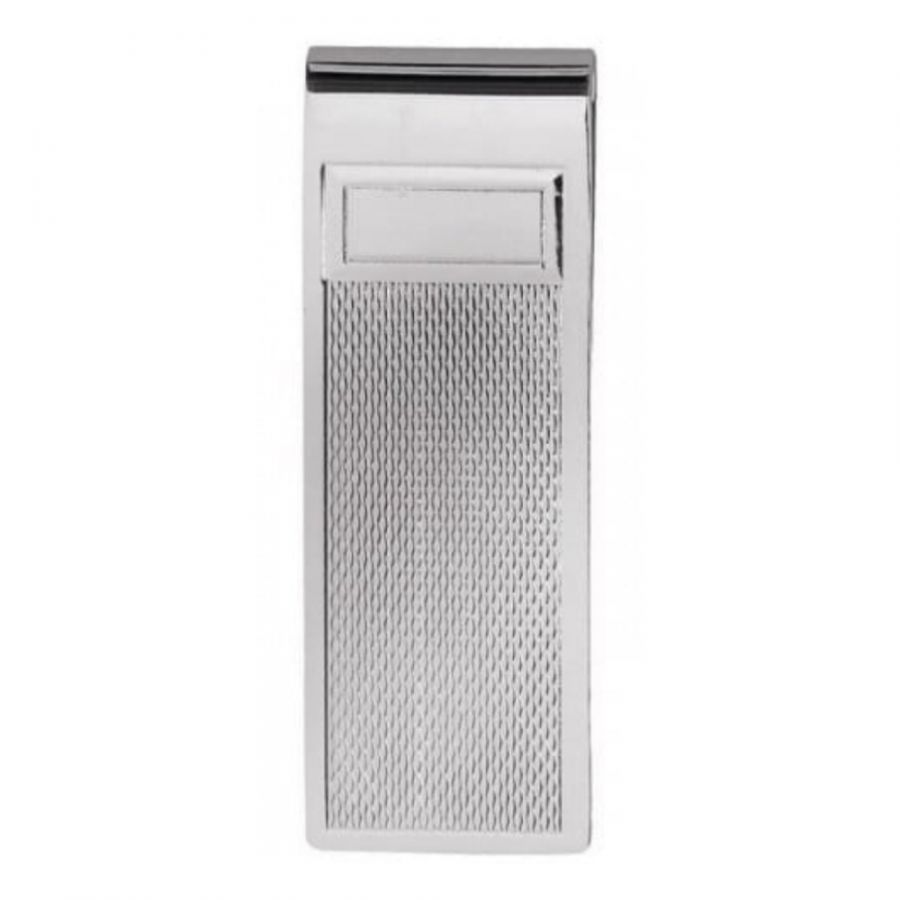 Gents Sterling Silver Textured Money Clip