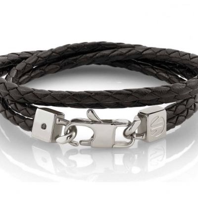 Gift ideas for gentlemen. Nomination leather and stainless steel bracelet. #nominationbracelet #leatherbracelet #leatherbracelets #giftsformen #braceletsformen #edmondsjewellerscoventry