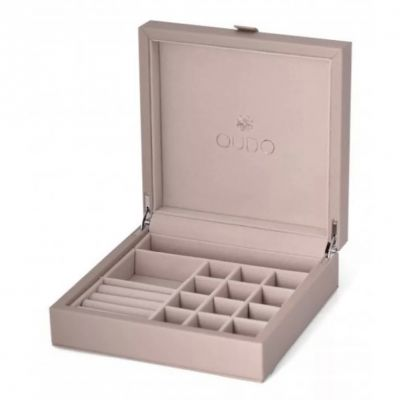 The Perfect Qudo Deluxe Collector's Box.  #qudo #qudojewellery #qudocollection #qudointerchangeable #qudorings #jewelleryboxes #edmondsjewellerscoventry